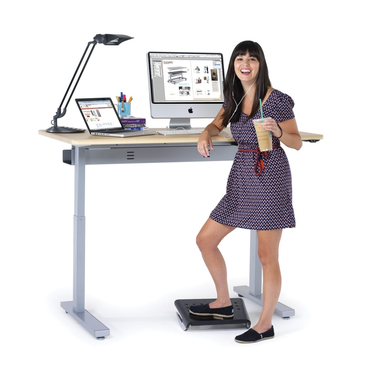 Anthro Desk Sit To Stand