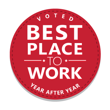 best place to work badge
