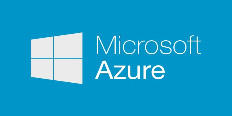 Microsoft Azure cloud computing logo