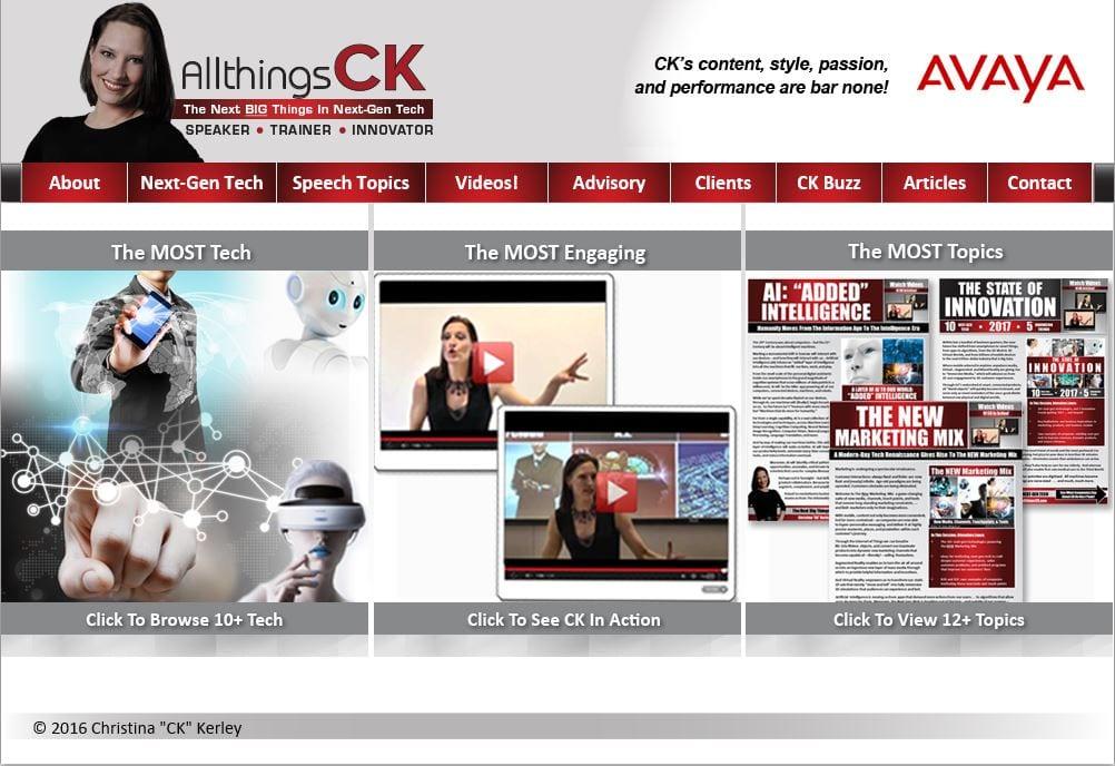 Technological Innovation CK Website