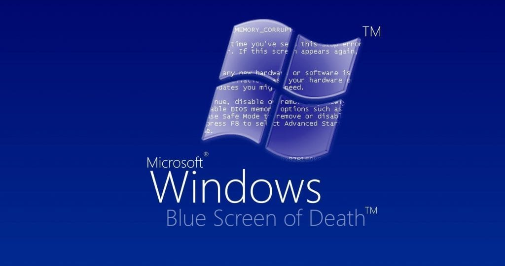 Blue Screen of Death causes downtime