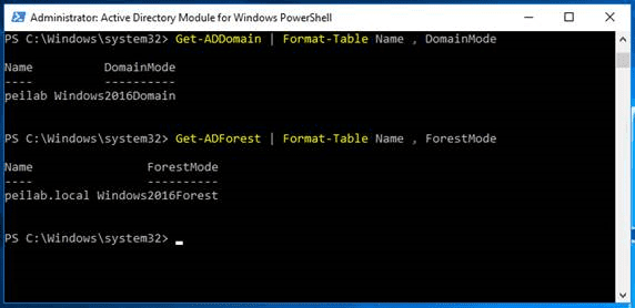Server 2016 Step One in Powershell