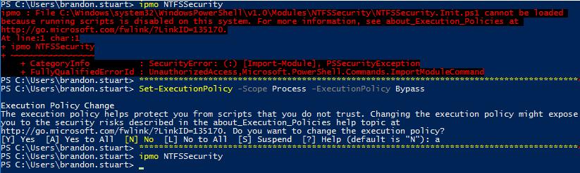 module ntfssecurity