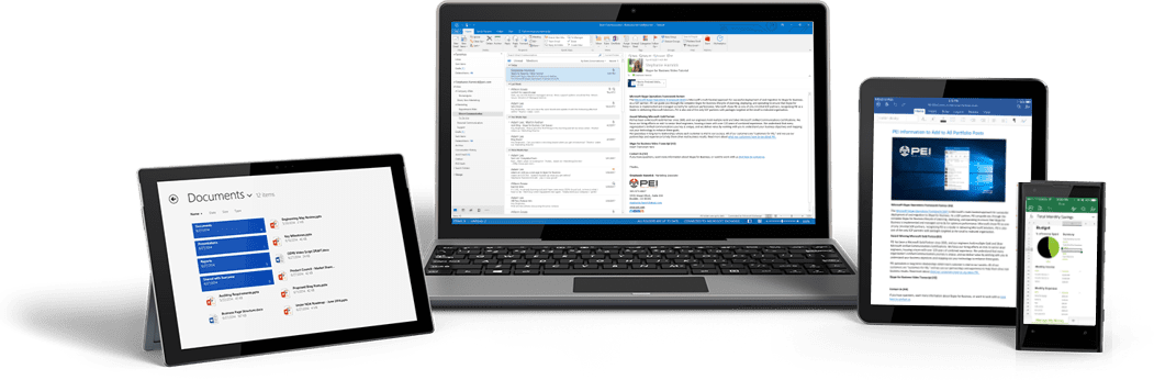 devices with Office 365 migration