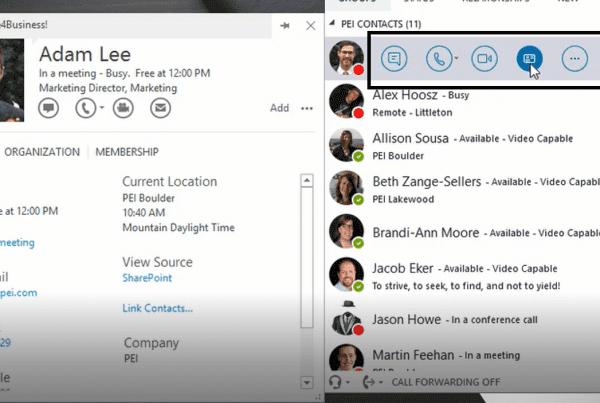 screenshot of quick launch bar