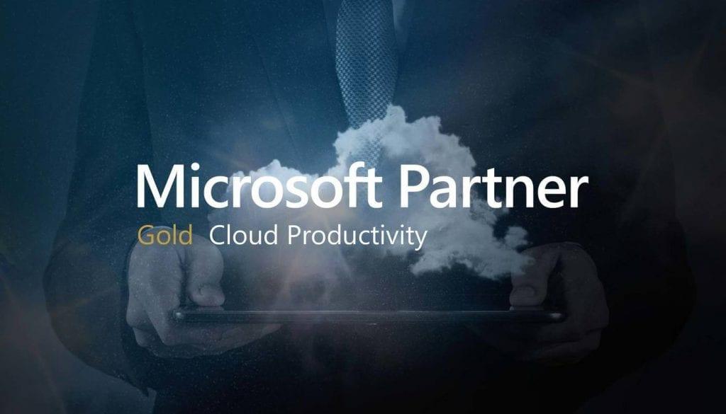 Microsoft Gold Cloud Productivity Partner Status