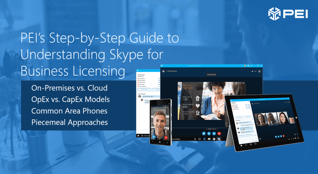 Step-by-step guide to understand Skype for Business Licensing header