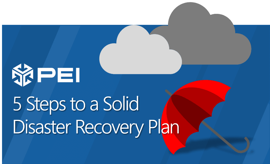 Disaster Recovery Plan header