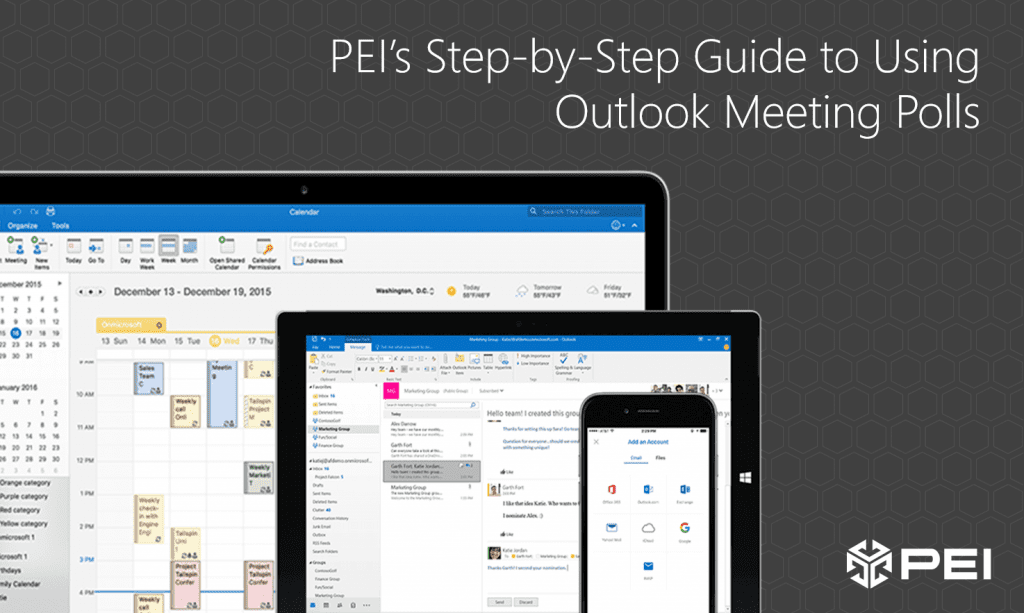 Microsoft Outlook Meeting Polls guide