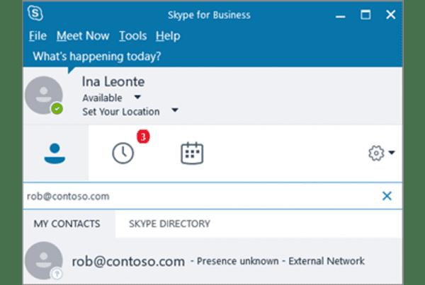 Skype Directory Screenshot