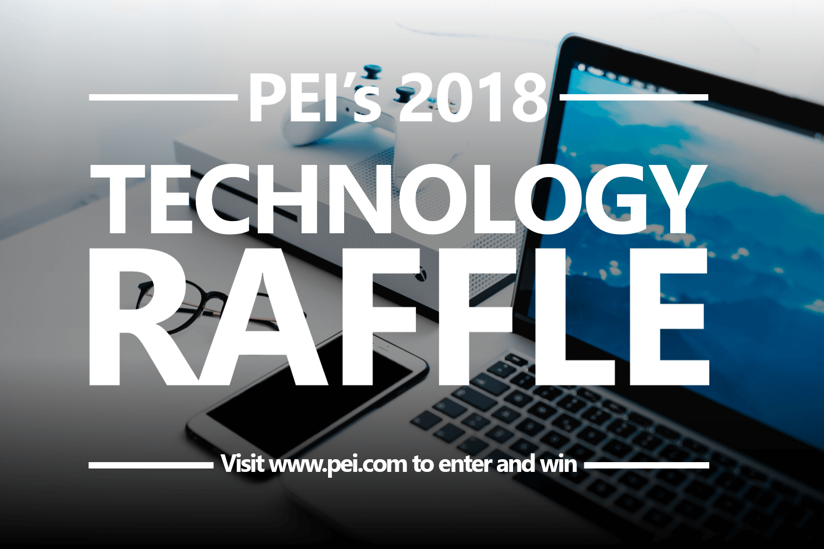technology raffle words