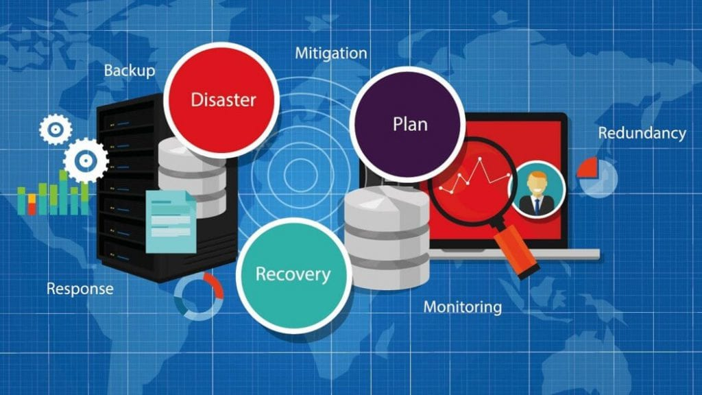 disaster recovery vs. data backup graphic how data backup is different from disaster recovery