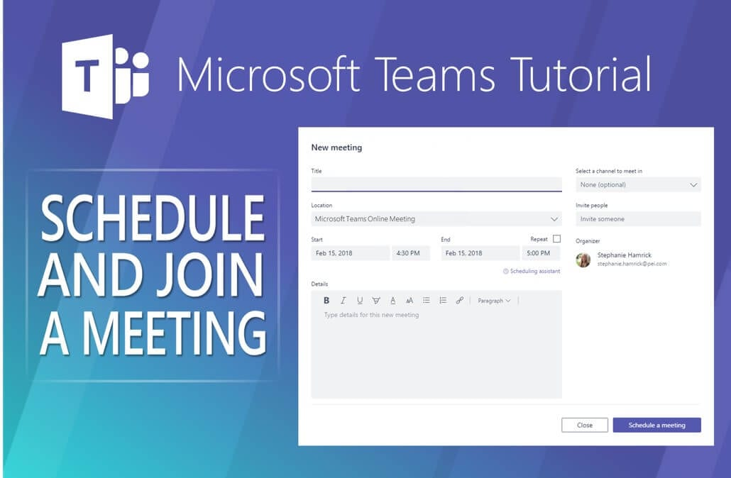 video and steps  microsoft teams