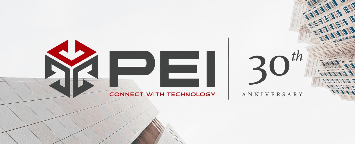 PEI 30th Anniversary Logo