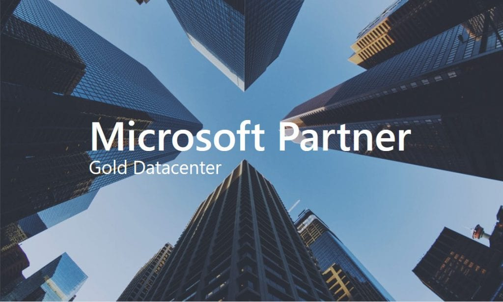 PEI Microsoft Gold Datacenter Partner for System Center