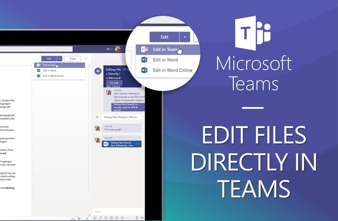 VIDEO] Microsoft Teams – How to Edit Files Directly in the Teams App