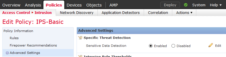 Stopping/Alarming on Sensitive Data Leaving the Company with