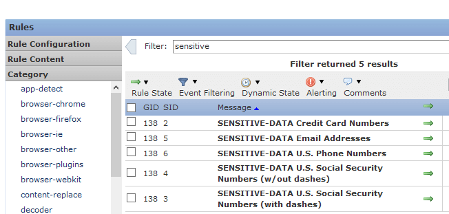 Stopping/Alarming on Sensitive Data Leaving the Company with Cisco