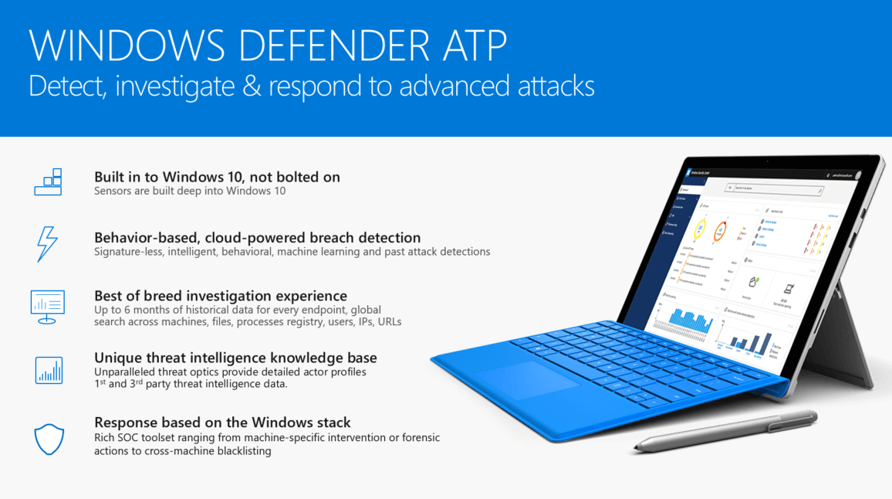 Windows Defender Advanced Threat Protection Security