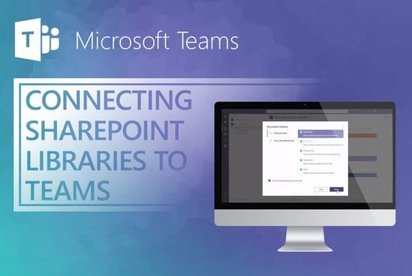 Teams How to Add SharePoint Document Libraries