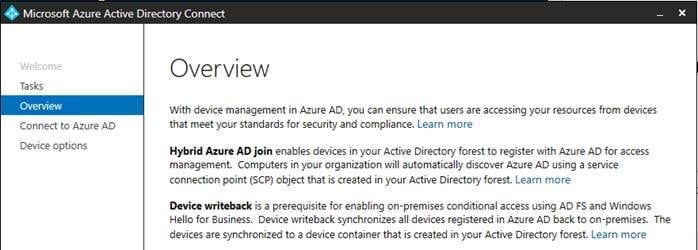 Azure AD Connect: Syncing Domain-Joined Computers to Active