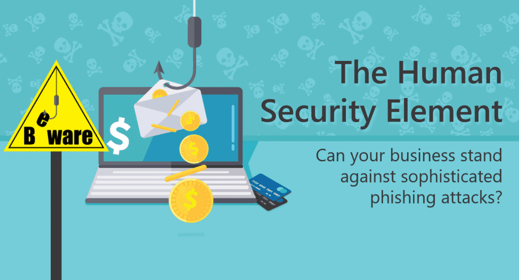 phishing attacks human security element