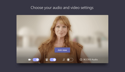 Microsoft Teams blur video background for privacy