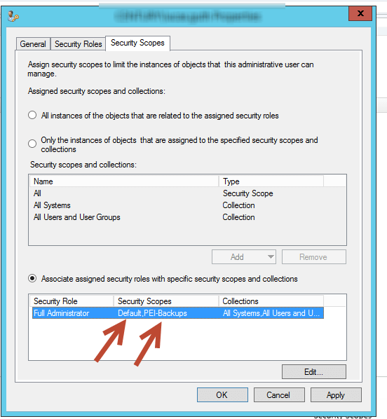Remove SCCM All Permissions