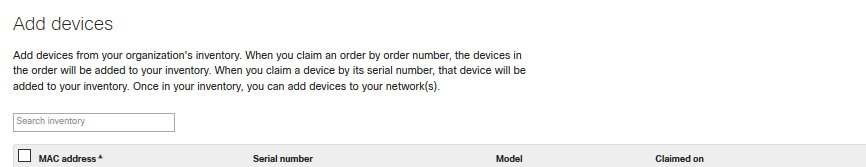 Add Devices to Network