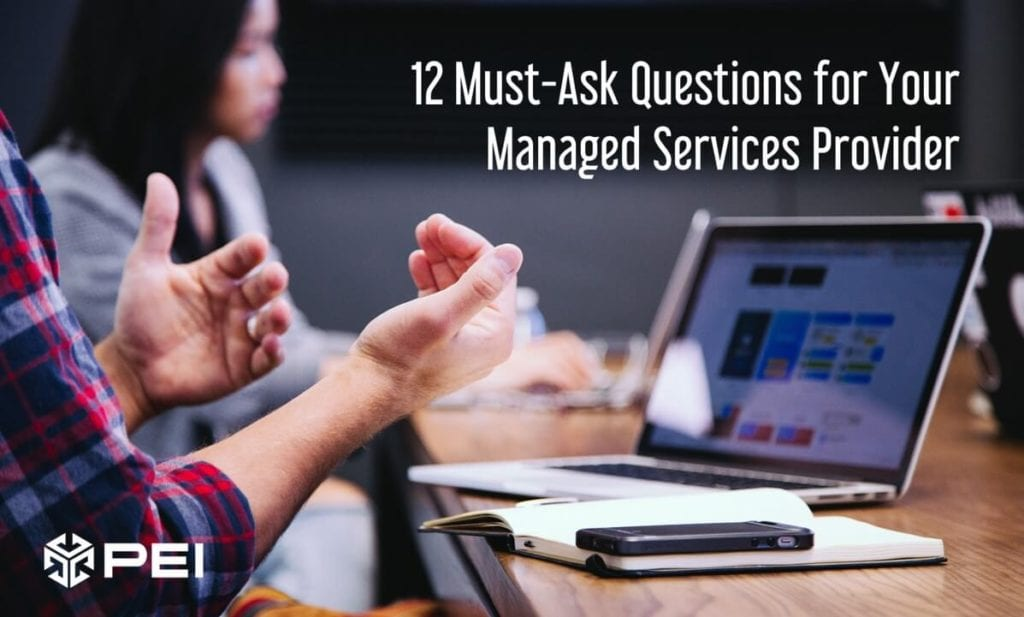 Evaluating Managed Services Providers
