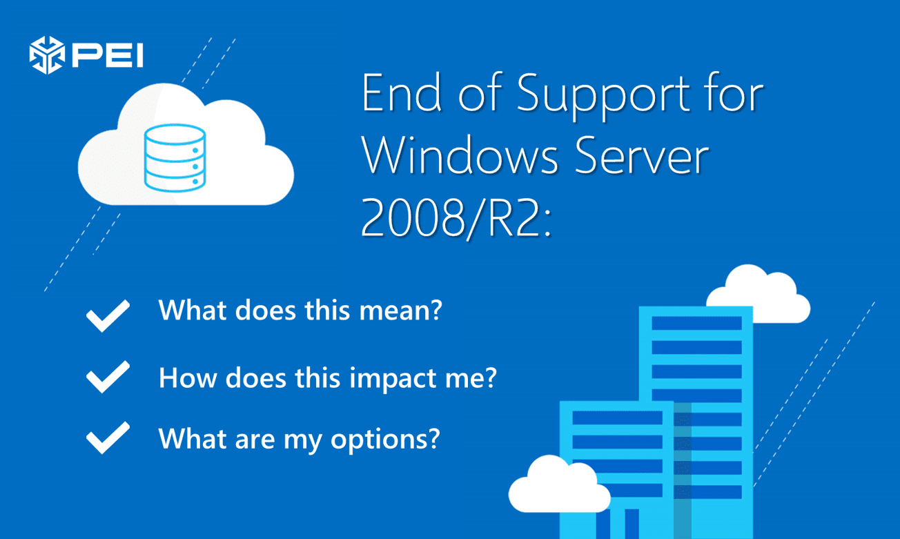 Windows Server 2008 End of Support Options
