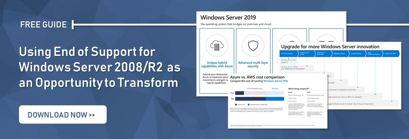 How to Approach Windows Server 2008 End of Support [5 Options]