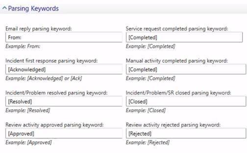 Parsing Keywords Screenshot