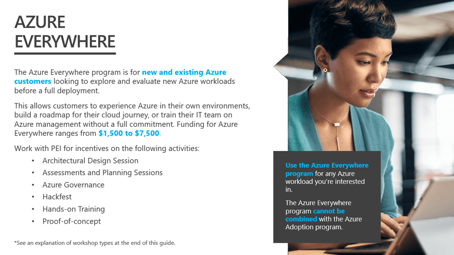 Azure Everywhere Program Details