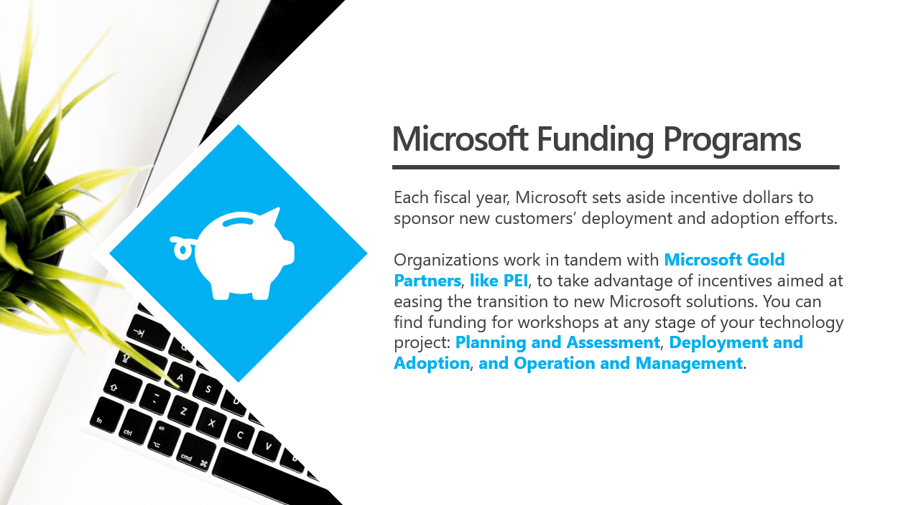 Microsoft Funding Introduction