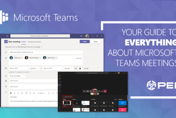 Everything About Microsoft Teams Meetings